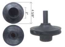 Americana Pump Impeller 1 1/2 HP 39500900 V38-182