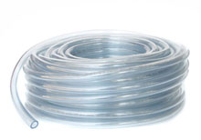Blue Devil 1/8 ID 1/4 OD in 50ft Clear Vinyl Tubing W01-1100BU-5