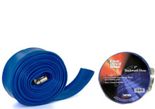 Blue Devil Backwash Hose  2in 75ft W/CLAMP B8256