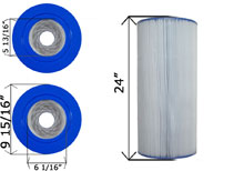 Cartridge Filter Jacuzzi CFR-150 C-9478