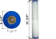 Cartridge Filter Pentair Quad D.E. 100 178656 C-6900