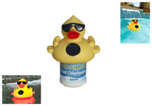 Game Solar Light Up Derby Duck Chlorinator 8002