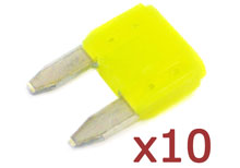 Hayward Fuse Yellow 20A 10 Pack GLX-F20A-10PK