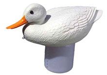 PoolMaster Floating Dispenser Clori-duck White 32131