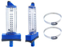 Rola-Chem 2.5 in. PVC Top Mount Flowmeter 570361T