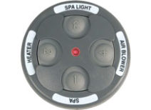Spa Side Remote Jandy 4 Function 200 ft. Gray 8051