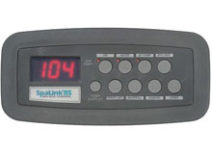 SpaLink RS Jandy 8 Function Spa Side Remote 200 ft. Gray 7890