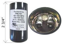 U.S. Seal Capacitor 161-193 MFD 125V BC-161